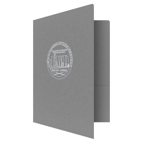 Intelligence and Information Warfare Directorate Presentation Folder (Front Open View)