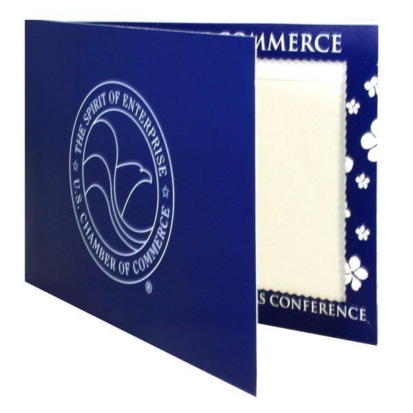 U.S. Chamber of Commerce Conference Photo Folder (Front Open View)