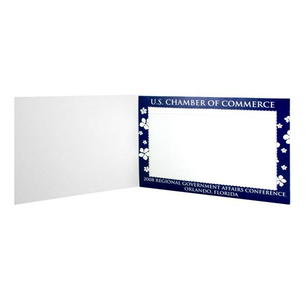 U.S. Chamber of Commerce Government Photo Frame Folder (Inside View)