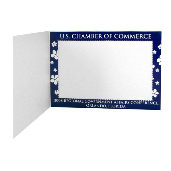 U.S. Chamber of Commerce Regional Government Affairs Conference Folder (Inside Frame View)