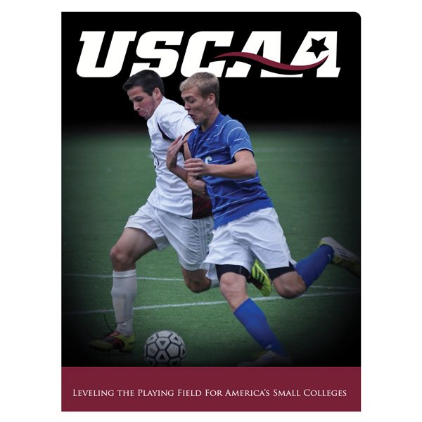 USCAA Business Pocket Folder (Front View)