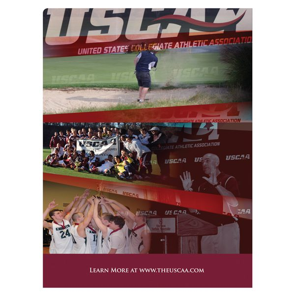 USCAA Sports Business Presentation Folder (Back View)