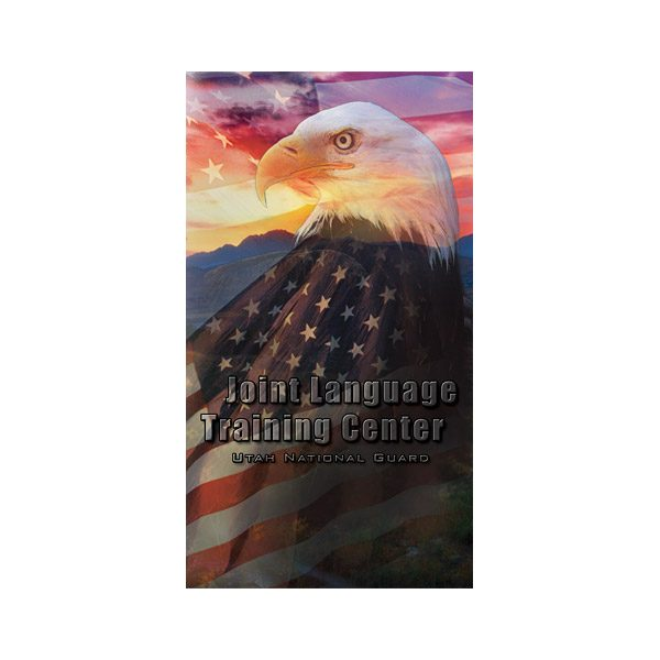 JLTC Utah National Guard CD/DVD Presentation Folder (Front View)