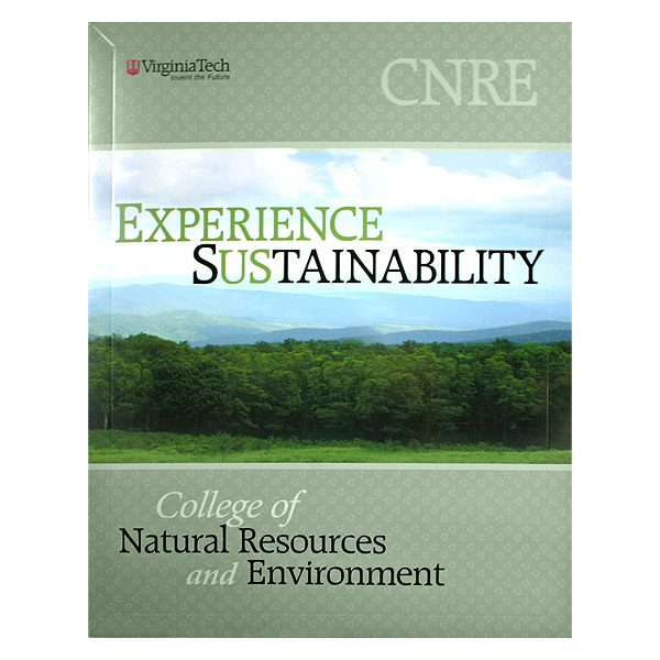 Virginia Tech CNRE Program Presentation Folder (Front View)