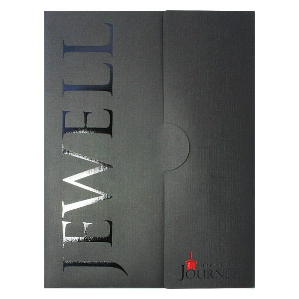 William Jewell College Custom Made Folder (Front View)