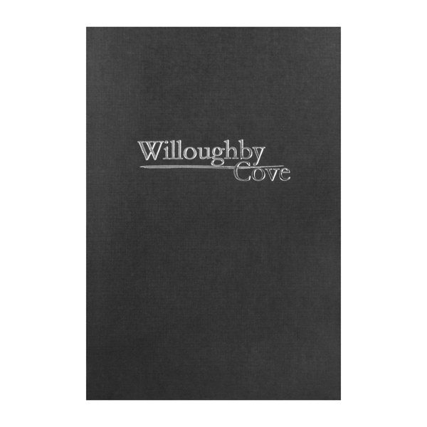 Willoughby Cove Pocket Folder with Logo (Front View)