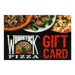 Woodstock's Pizza Gift Card Holder