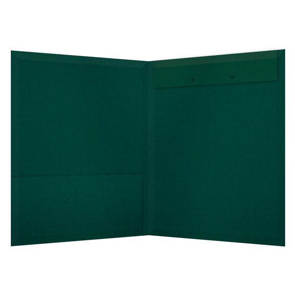 Jeffrey Wriedt & Company Single Pocket Folder (Inside View)