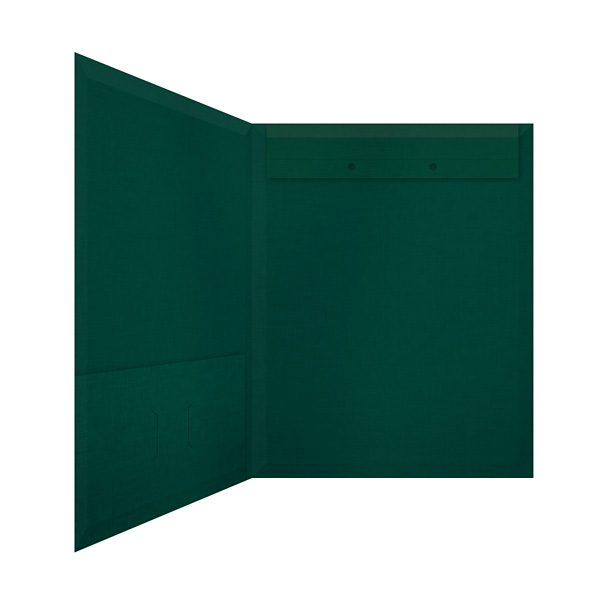 Jeffrey Wriedt & Company Green Accounting Folder (Inside Right View)