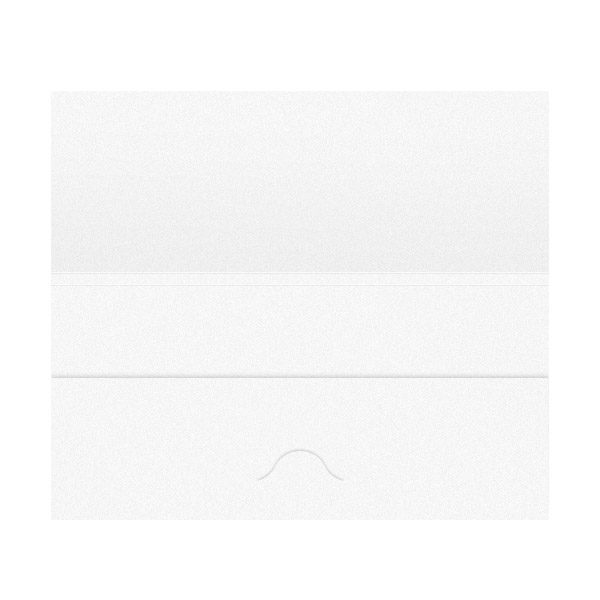 Airplane Travel Document Folder Template (Inside View)