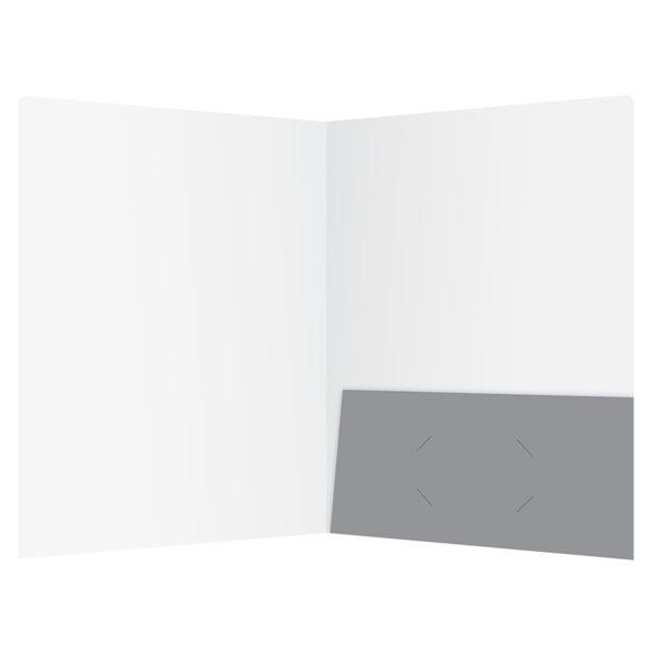 Answer United Single Pocket Folder (Inside View)