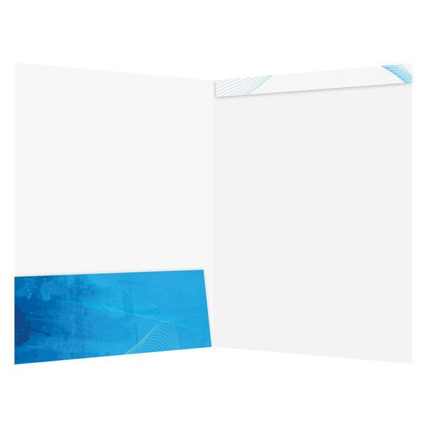 Dream Home Real Estate Folder Template (Inside View)