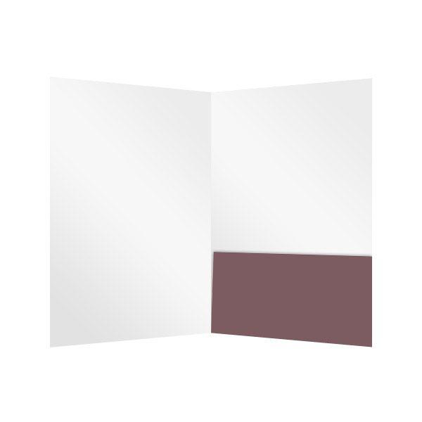 Inspirational Baptist Church Spiritual 2-Pocket Folder (Inside View)