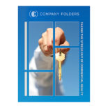 Key in Hand Commercial Real Estate Folder Template