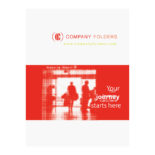 Silhouette Travel Agent Folder Template