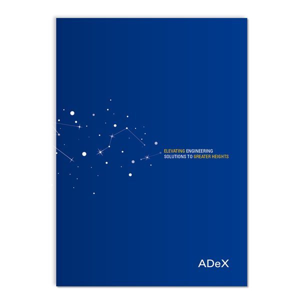 ADeX Engineering Corporate Folder (Front View)