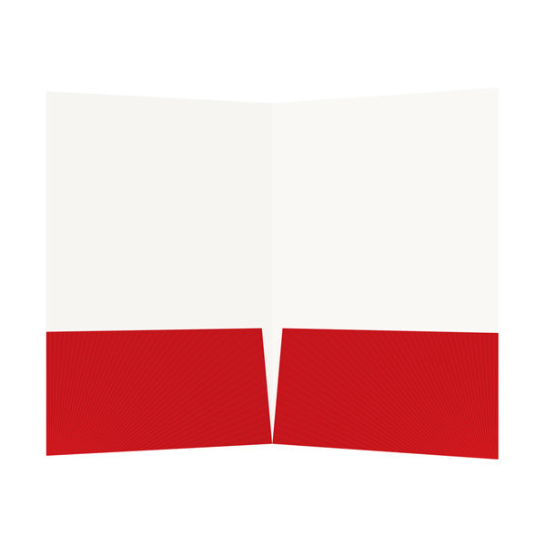 Church Visitors Welcome Folder Template (Inside View)