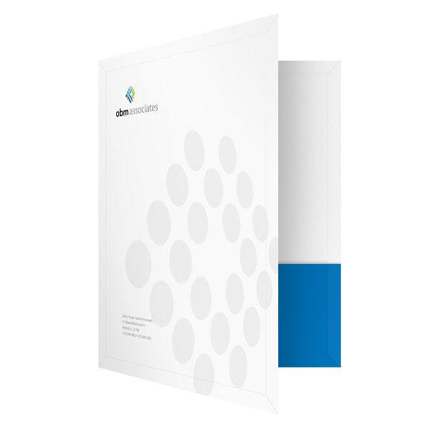 Presentation Folder Printing for OBM Accounting
