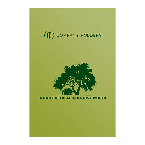 Big Tree Retreat Folder Template (Front View)
