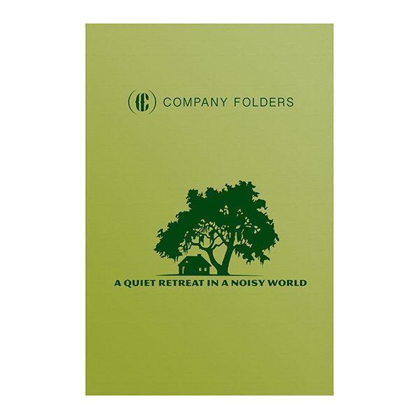 Big Tree Retreat Folder Template (Front View)