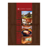 Comfortable Bed & Breakfast Folder Template