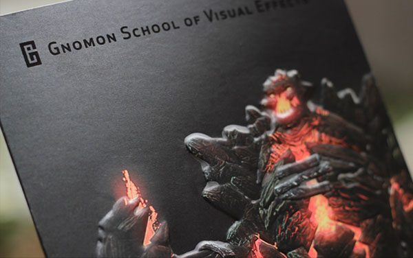 Gnomon School Cool Presentation Folder (Close Up)
