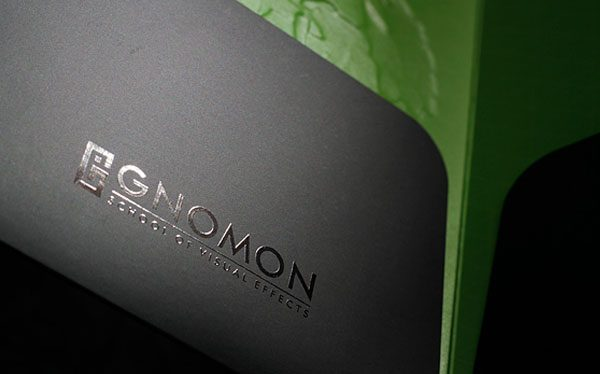 Gnomon School Cool Presentation Folder (Pocket Close Up)