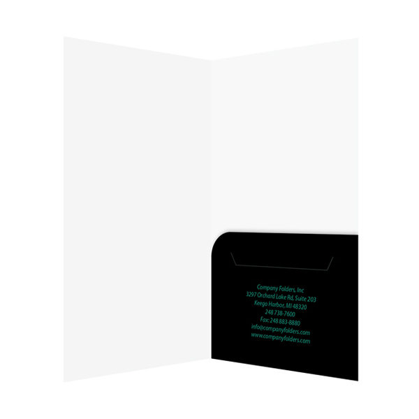 Hotel Key Card Design Template (Inside View)