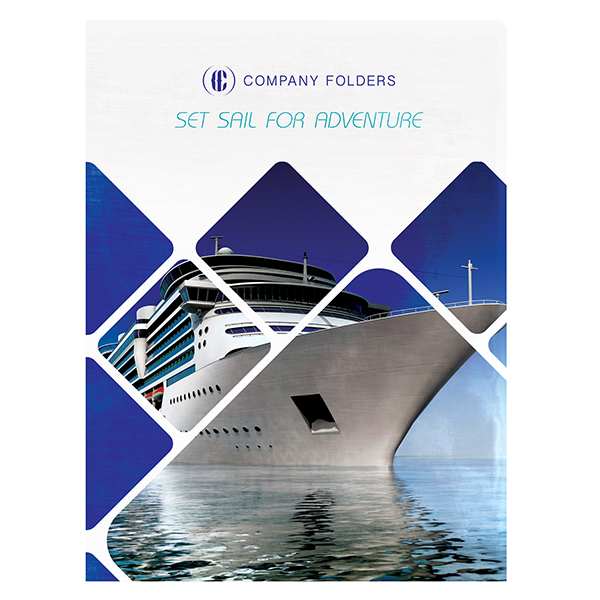 Freebie: Cruise Ship Adventure Folder Design Template