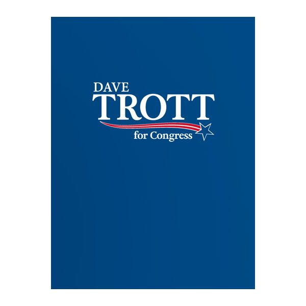 Trott For Congress Presentation Folder (Front View)