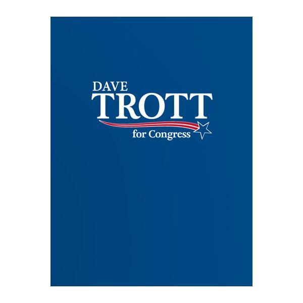 Trott For Congress Presentation Folder (Front View)