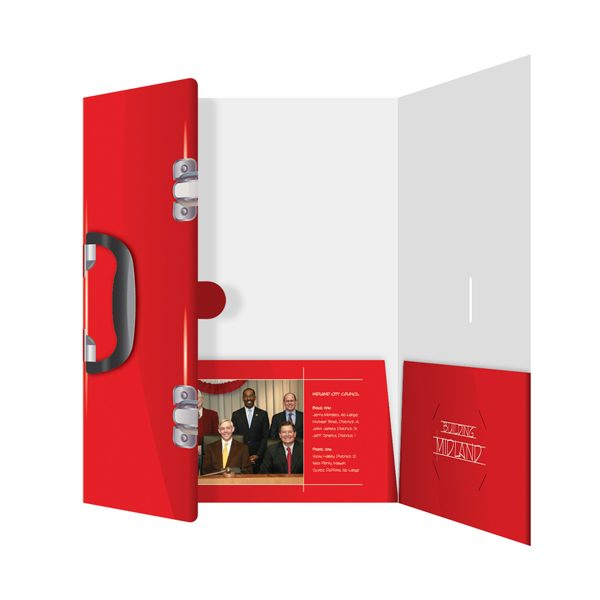 City of Midland Toolbox Presentation Folder (Front Open View)