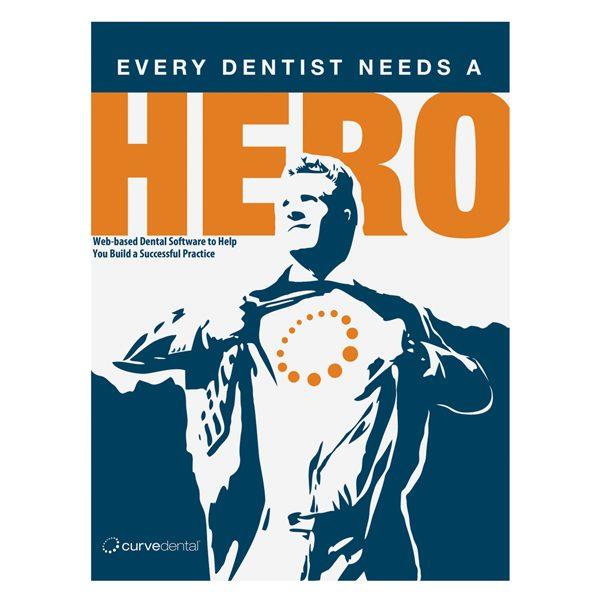 Curve Dental Branded Presentation Folder (Front View)