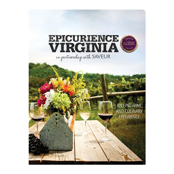 Epicuriance Virginia Wine Festival Folder (Front View)
