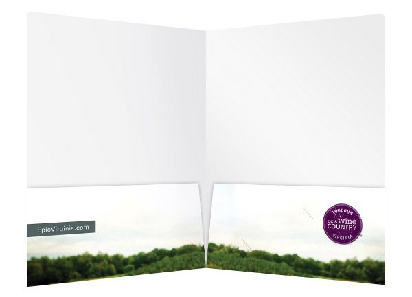 Epicuriance Virginia Wine Festival Folder (Inside View)