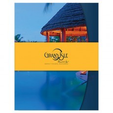 Grand Isle Resort & Spa Presentation Folder (Front View with Band)