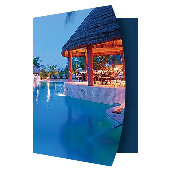 Grand Isle Resort & Spa Presentation Folder (Front Open View)