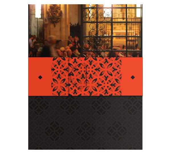 Free Church Visitor Folder Packet & Card Template (Back View)