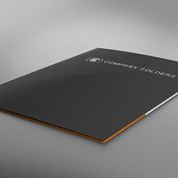 Freebie: Low Angle Folder Mockup PSD Template