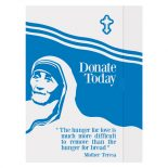 Mother Teresa Charity Presentation Folder Template