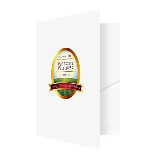 Panhandle Worksite Wellness Council Logo Folder (Front Open View)