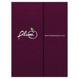 Plum Direct Marketing Presentation Folder
