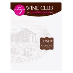 Prairie Berry Winery Club Presentation Folder (Front View)