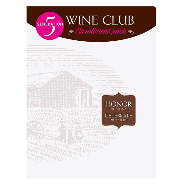 Prairie Berry Winery Club Presentation Folder (Front View)