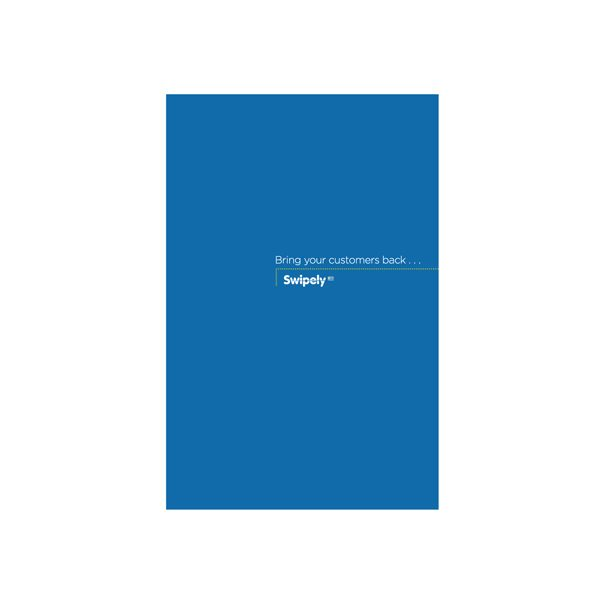Swipely Small Tri-Fold Presentation Folder (Front View)