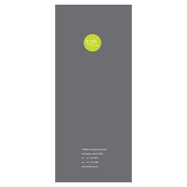 Tish Flooring Small Pocket Folder (Back View)