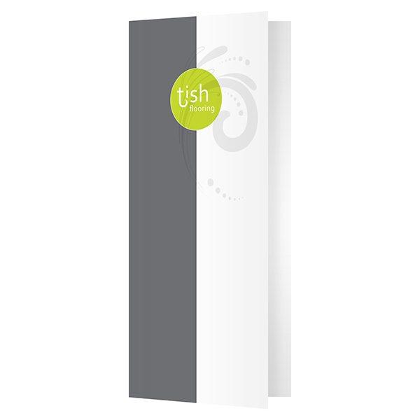 Tish Flooring Small Pocket Folder (Front Open View)