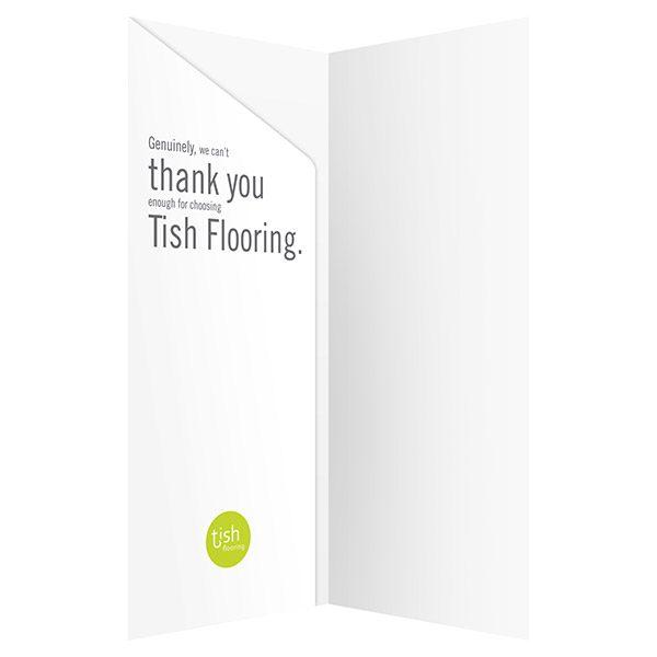 Tish Flooring Small Pocket Folder (Inside View)
