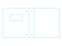 Freebie: Three-Ring Poly Binder with 4x2 Window Template