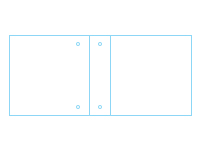 Freebie: Two-Pocket Three-Ring Turned Edge Binder Template